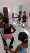 Siane and her ballet class!