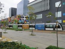 New tram system